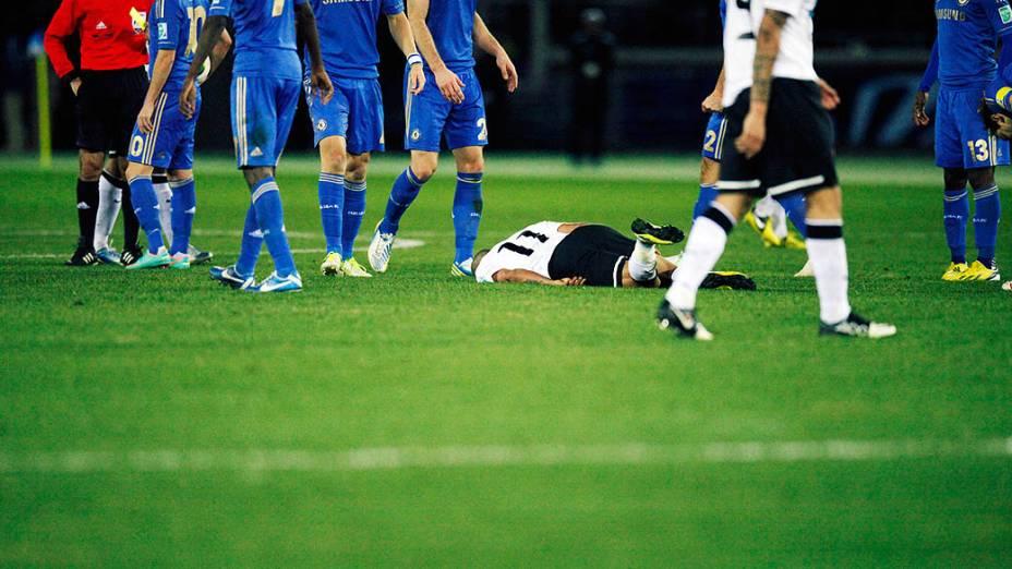 Emerson do Corinthians final Mundial de Clubes da Fifa contra o Chelsea, em Yokohama