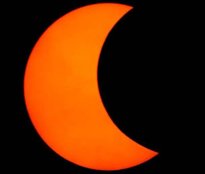 Eclipse parcial do Sol
