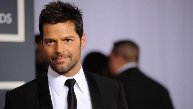 O cantor Ricky Martin
