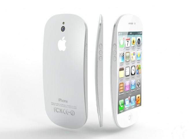 """Mais uma """"versão"""" do iPhone 5 com o fundo arredondado"""