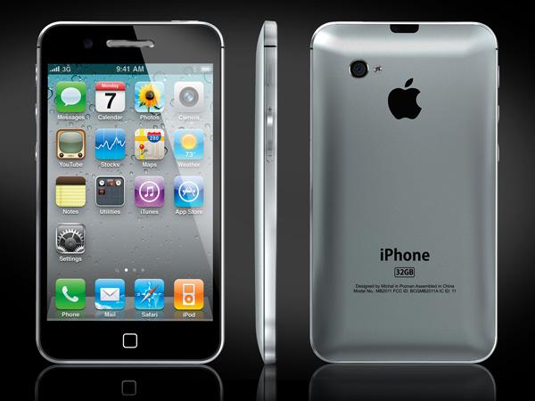 Esse design parece mais uma mistura da versão 3G com a 4S do iPhone. O fim da traseira de vidro é um assunto muito debatido entre os usuários da marca