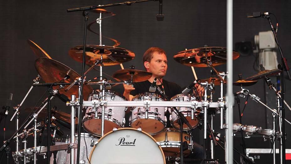 Show da banda 311 no palco Energia & Consciência, no último dia do festival SWU em Paulínia, em 14/11/2011