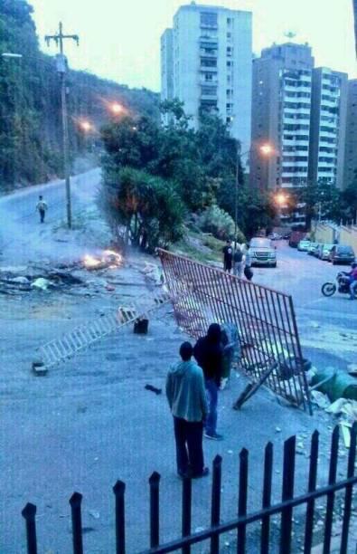 #NoHayPaso na região de Santa Mônica, em Caracas