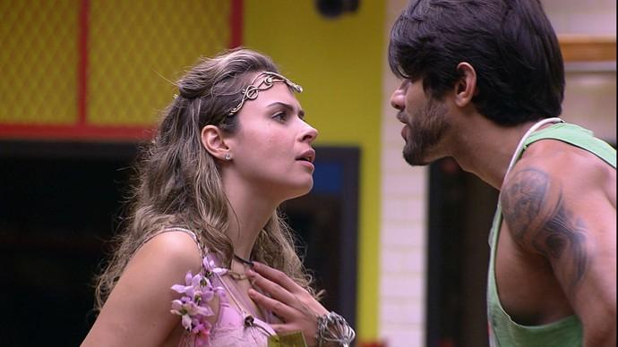 Ana Paula e Renan no BBB16
