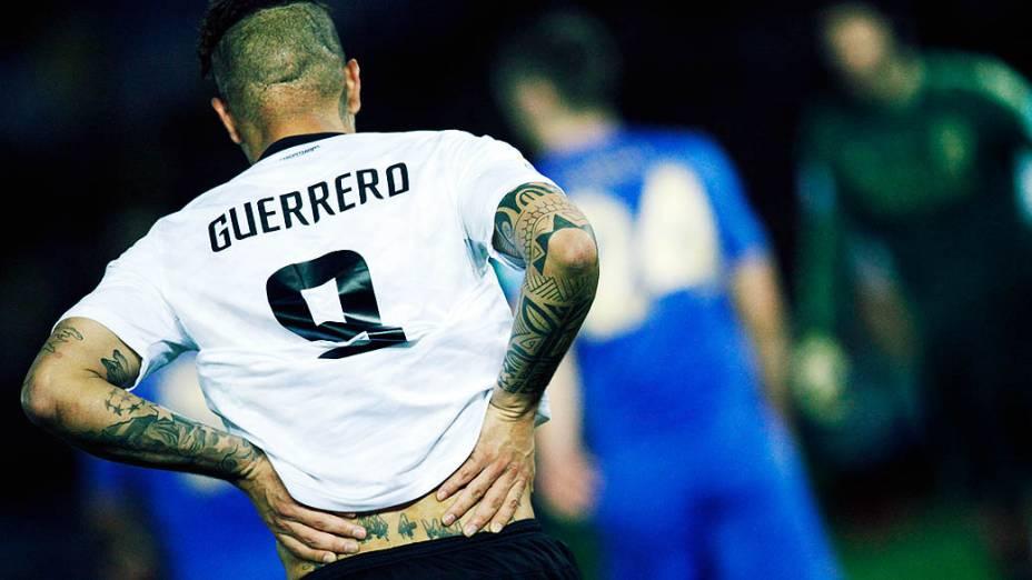Guerrero marcou o gol da vitória do Corinthians sobre o Chelsea, pela final do Mundial de Clubes da Fifa, em Yokohama