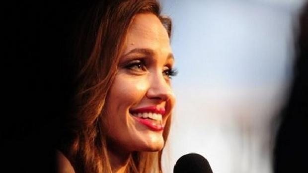 A atriz Angelina Jolie