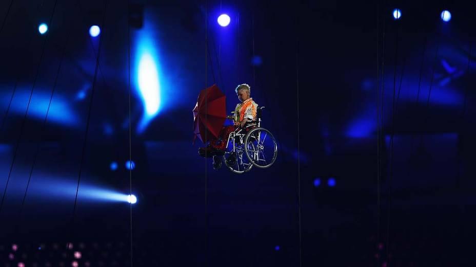 Show na cerimônia de abertura da Paralimpíada