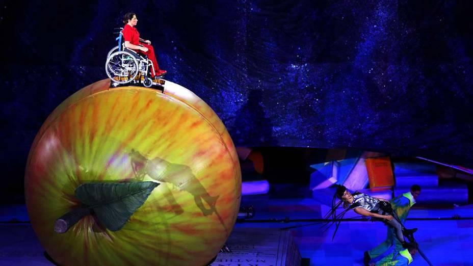 Cerimônia de abertura da Paralimpíada em Londres
