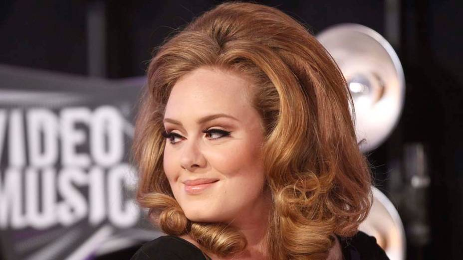Adele no MTV Video Music Awards em Los Angeles