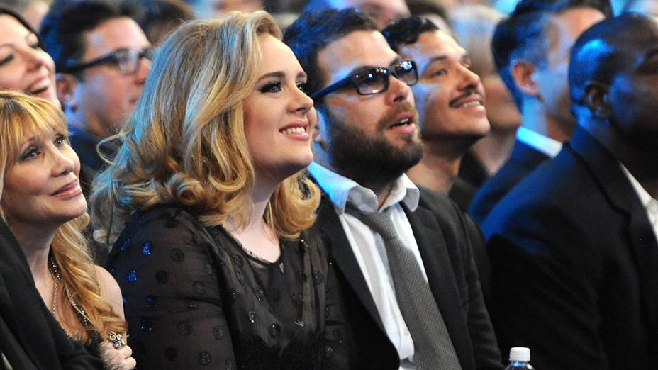 Adele e Simon Konecki