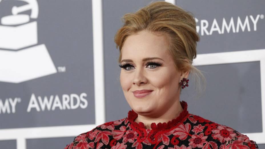 Adele no Grammy Awards 2013