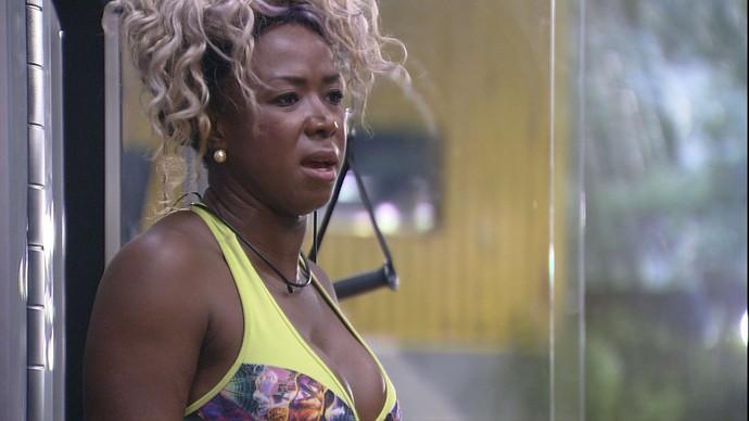 Adélia, apelidada de advogada do diabo nas redes, também deixou clara suas opiniões fortes e ameaçou dar uns tapas em Ana Paula