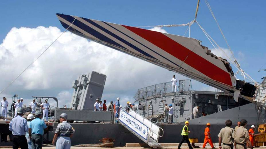 Destroços do voo 447 da Air France encontrados em 2009