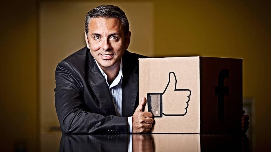 """""""Hoje, 20 milhões de brasileiros já acessam o Facebook a partir de um smartphone"""", diz a VEJA o executivo da empresa, Alexandre Hohagen"""