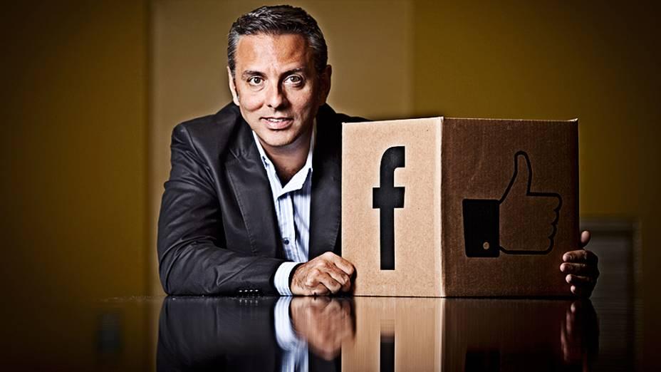 Hohagen comanda um time de 50 profissionais na sede do Facebook em São Paulo
