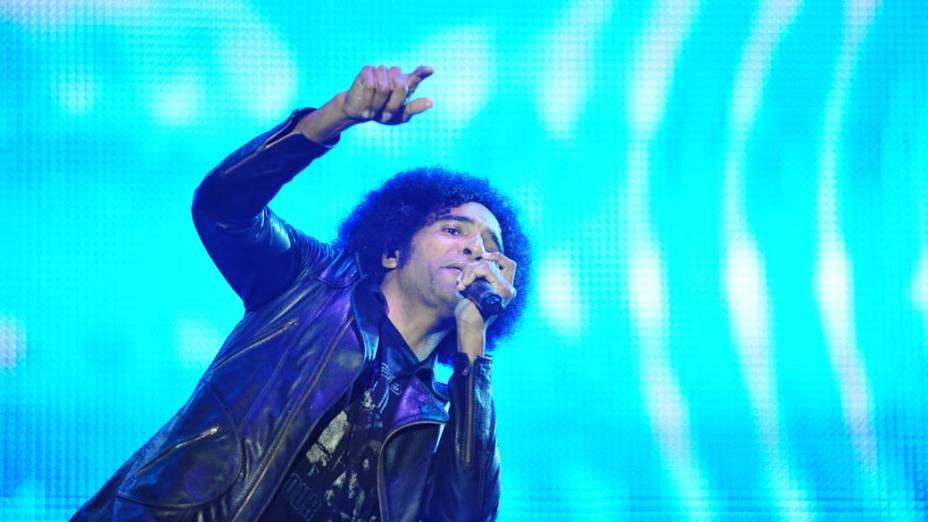 Show da banda Alice in Chains no palco Energia & Consciência, no último dia do festival SWU em Paulínia, em 14/11/2011