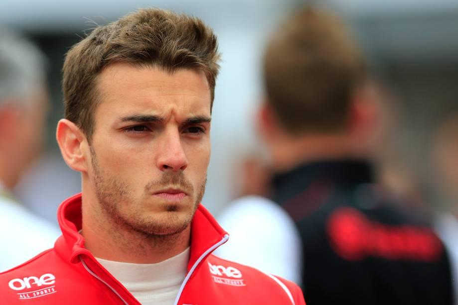 O piloto francês Jules Bianchi, de 25 anos, que se acidentou no GP do Japão