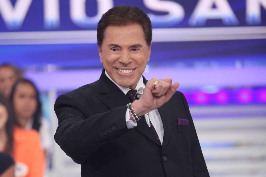 Silvio Santos, dono do SBT