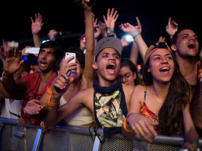 Público durante apresentação de Sam Smith no penúltimo dia de Rock in Rio