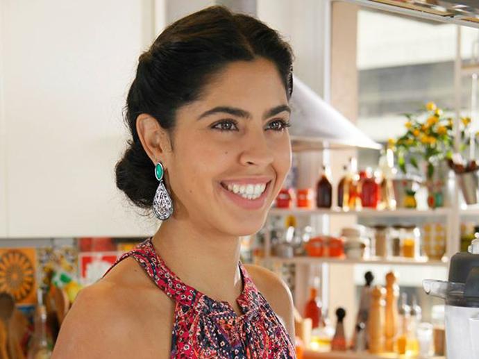 A nutricionista Bela Gil, filha de Gilberto Gil