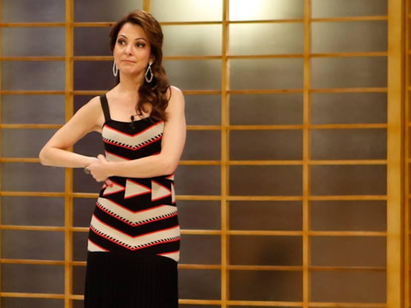 Ana Paula Padrão, apresentadora do MasterChef