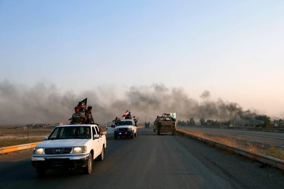 Exército iraquiano entra na cidade de Amerli apos destruir cerco jihadista do Estado Islâmico - 01/09/2014