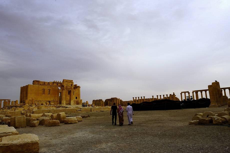 <p>Ruínas romanas de mais de 2.000 anos em Palmira, na Síria</p>