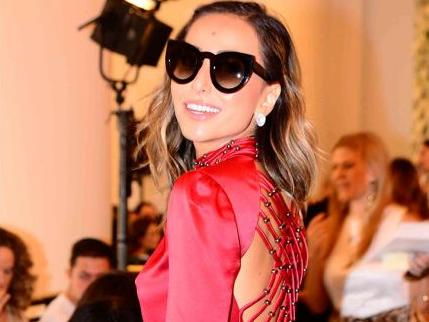 Sabrina Sato prestigia a São Paulo Fashion Week