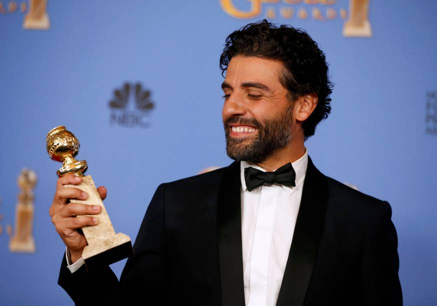 Oscar Isaac ganha o Globo de Ouro de melhor ator de minissérie