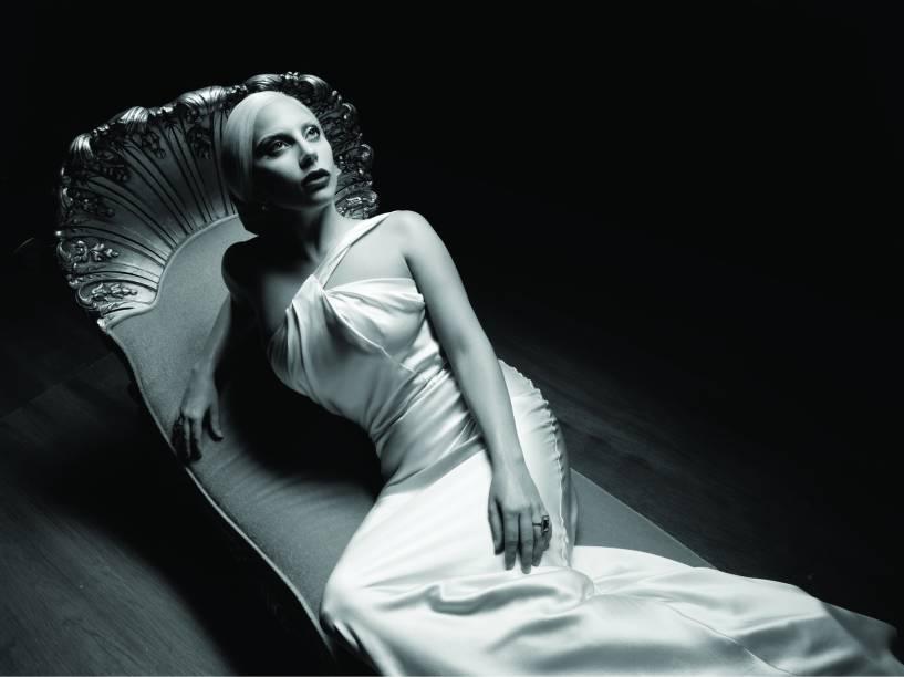 Lady Gaga em cena da quinta temporada de American Horror Story: Hotel