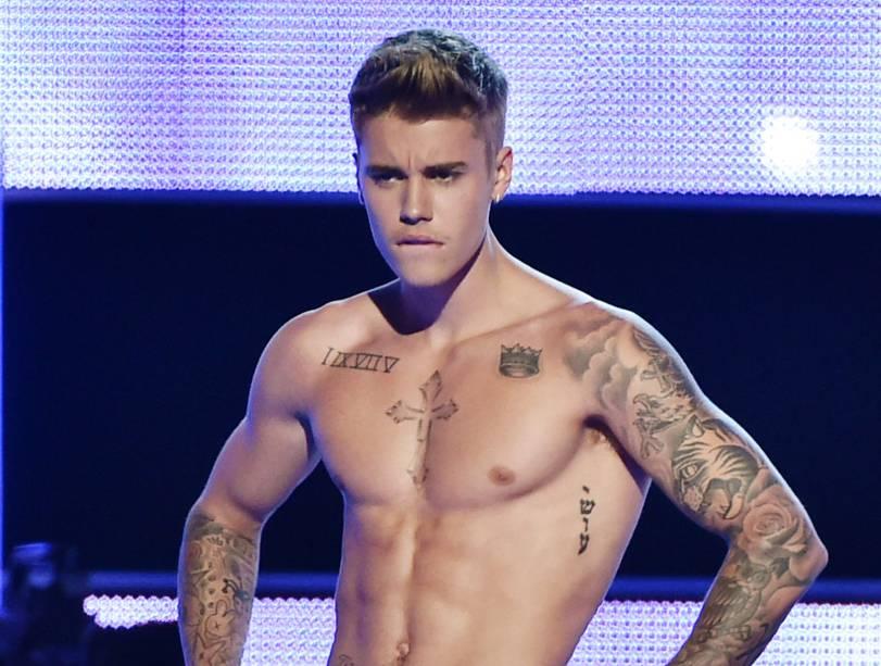 <p>O cantor Justin Bieber </p>
