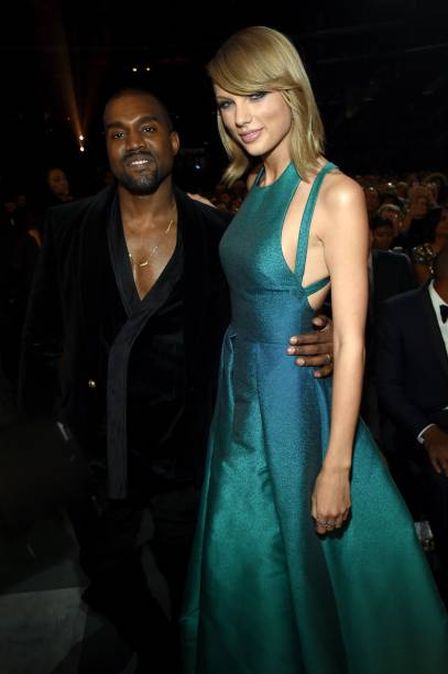 Kanye West e Taylor Swift, no Grammy 2015