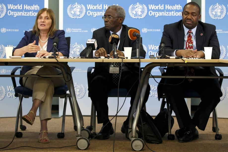 Especialistas da Organização Mundial da Saúde (OMS) se encontram nesta manhã (04) em Genebra, Suíça, para determinar que tratamentos experimentais poderiam ser usados na luta contra a epidemia do vírus da Ebola. As vacinas VSV-EBO e 'ChAd-EBO' que foram desenvolvidas nos Estados Unidos começam a ser produzidas na Europa e na África em setembro