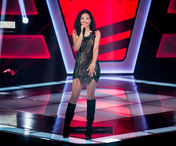 Adna Souza, candidata do The Voice Brasil