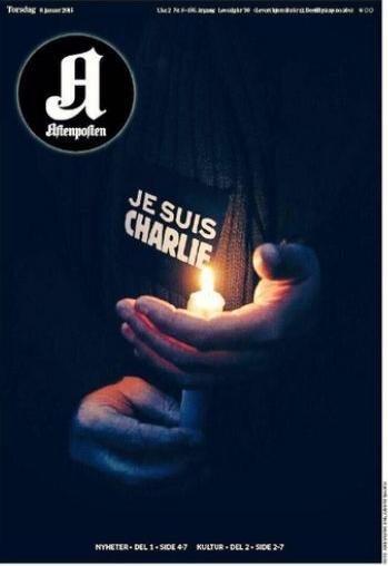 "Jornal norueguês Aftenposten e a frase ""Eu sou Charlie"""