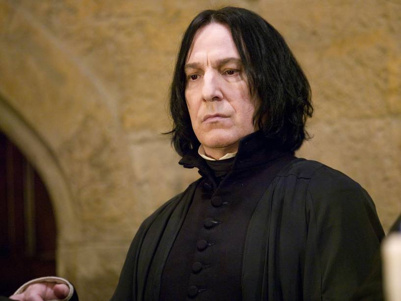"Alan Rickman no filme ""Harry Potter e o Cálice de Fogo"", de Mike Newell"