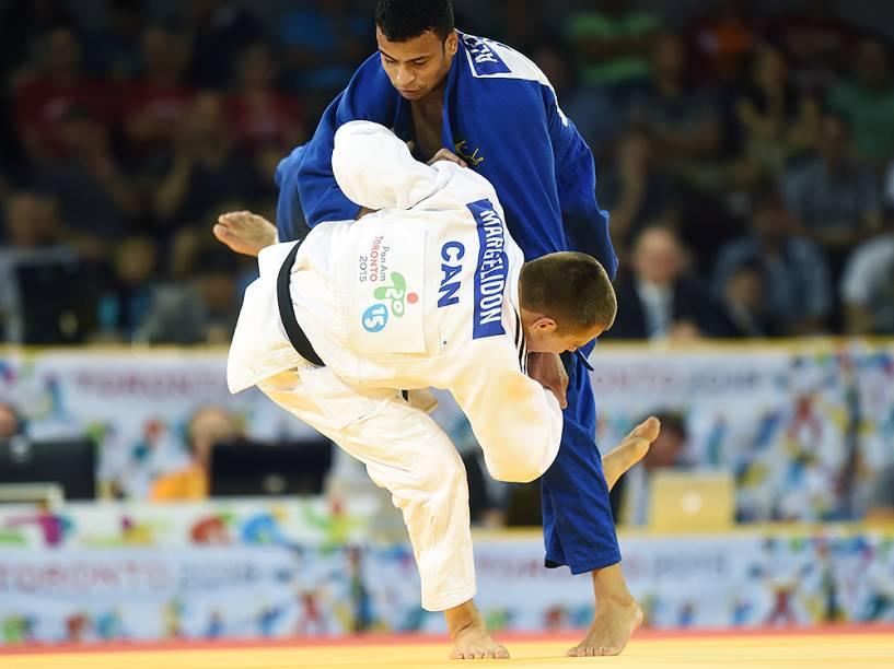 Alex Pombo perde na disputa pelo bronze no judô