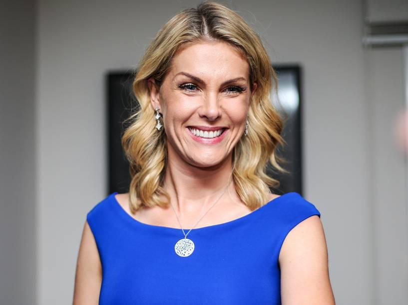 A modelo e apresentadora Ana Hickmann em 6/06/2015