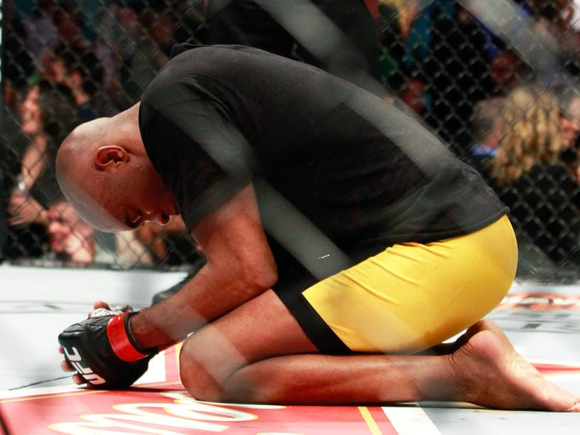Anderson Silva venceu Nick Diaz no UFC 183, em Las Vegas