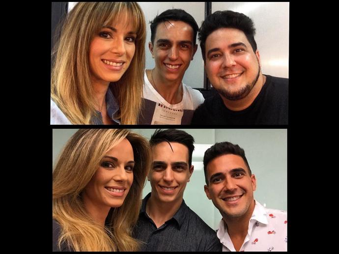 André Marques posta foto de antes e depois de perder 70 quilos
