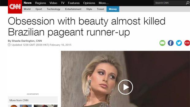 Andressa Urach na CNN