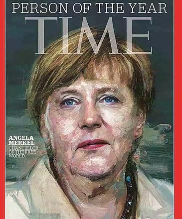 Angela Merkel capa da Revista Time