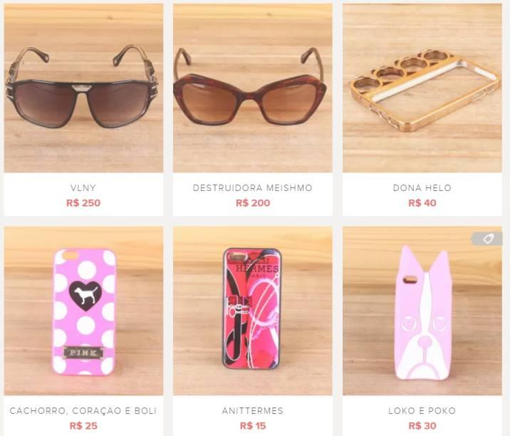 Peças da funkeira MC Anitta à venda em site de peças usadas