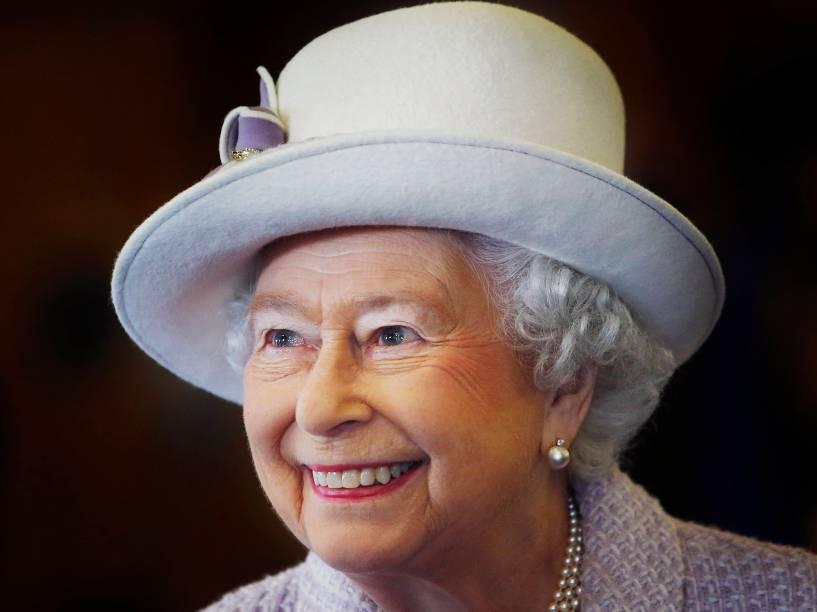 A rainha Elizabeth II- 20/11/2014