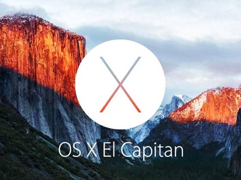 A nova versão do Mac OS se chama El Capitan