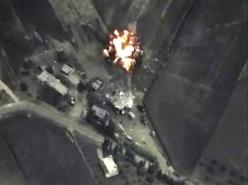 A Rússia começou nesta quarta-feira (30) a realizar ataques aéreos na Síria tendo como alvo o grupo Estado Islâmico