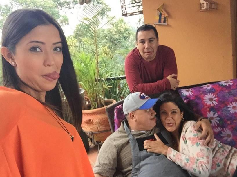 Família Cabello, em Caracas