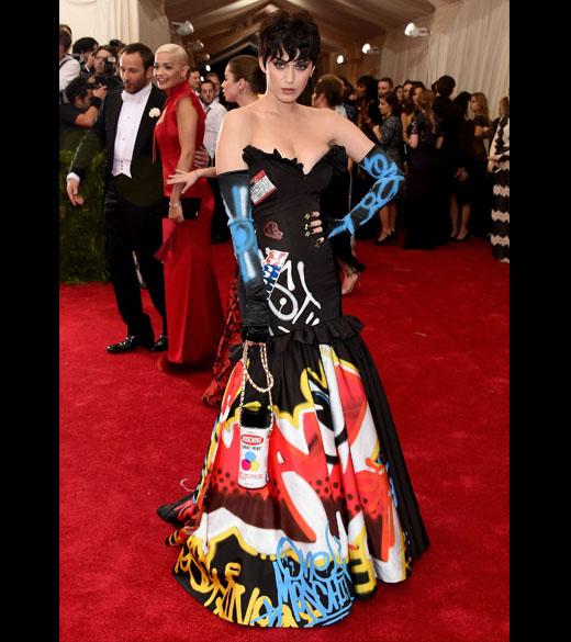 """Katy Perry no """"China: Through The Looking Glass"""", em Nova York"""