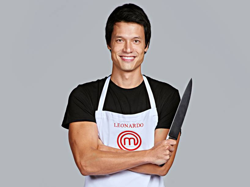 Leonardo Young, da terceira temporada do MasterChef Brasil