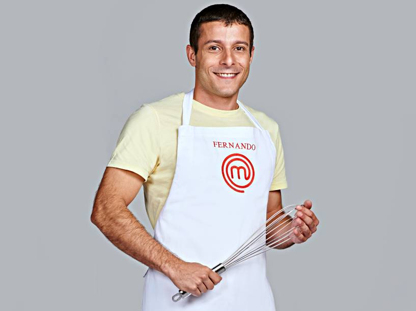 Fernando Bianchi, da terceira temporada do MasterChef Brasil